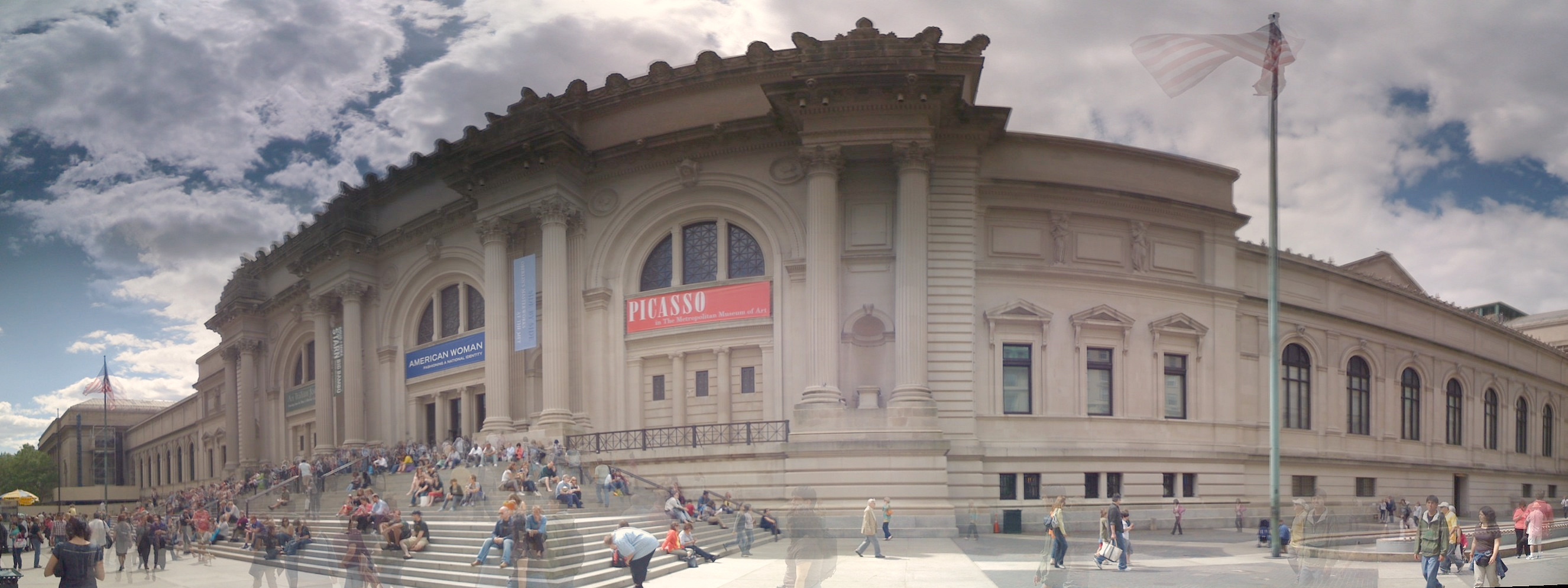 Exterior Panorama - Metropolitan Museum of Art