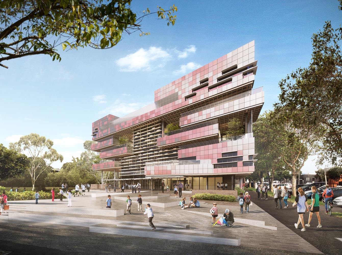 Школа на юге Мельбурна в Австралии