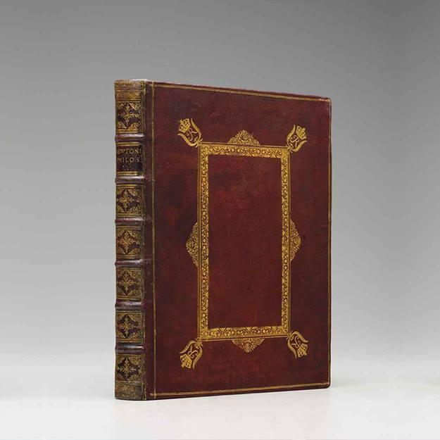Книга Исаака Ньютона
