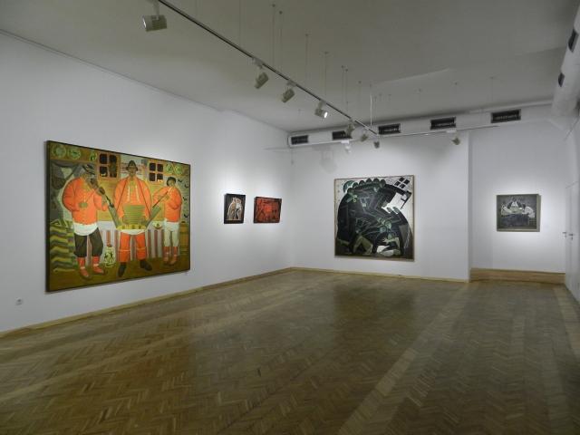 Коллекция работ: Вениамин Кушнир «Тиша і грім»