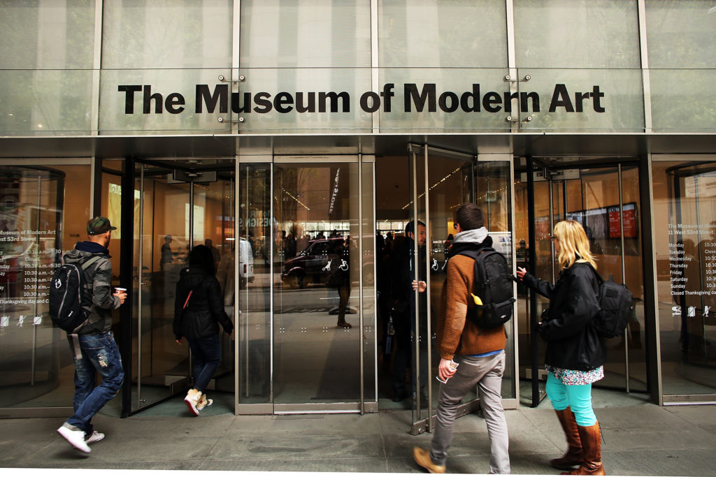 МоМА уничтожил работу американской художницы