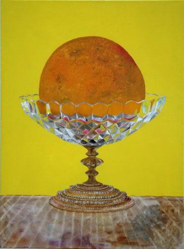 Orange in the vase 85x115