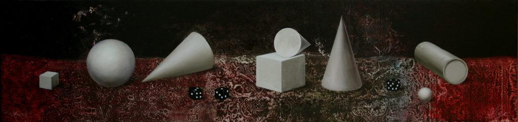 Three dice 125x30