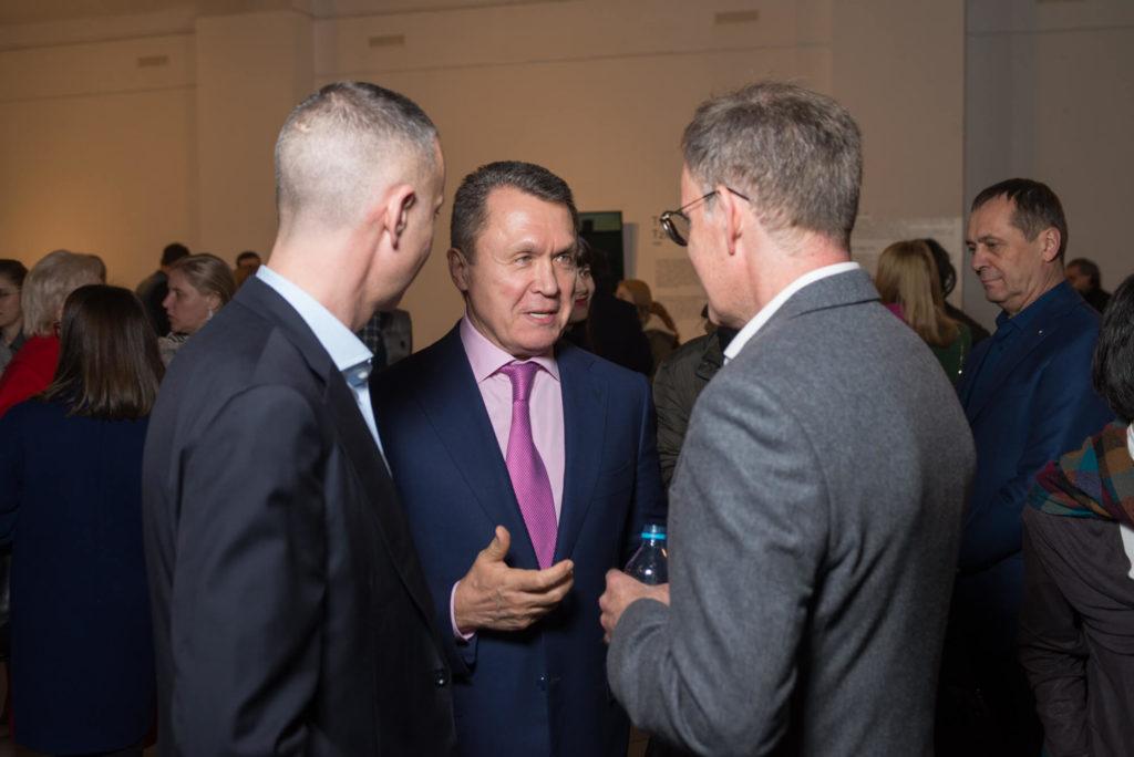 Борис Ложкин, Владимир Семиноженко, Серж Тирош