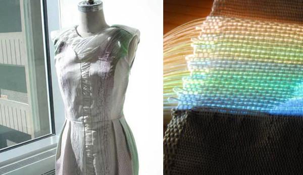 интерактивное платье