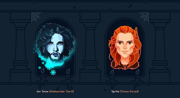 Дизайнеры увековечили в работах персонажей произведения «Игра престолов»