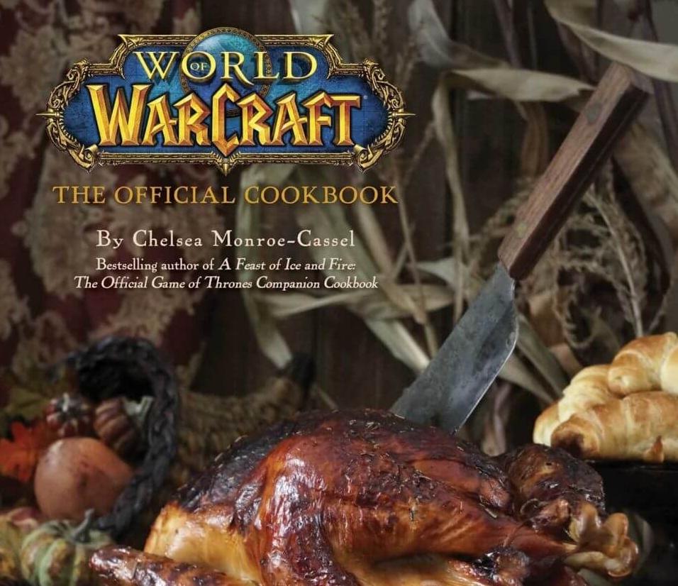 World of Warcraft покоряет кулинарию и книжный бизнес