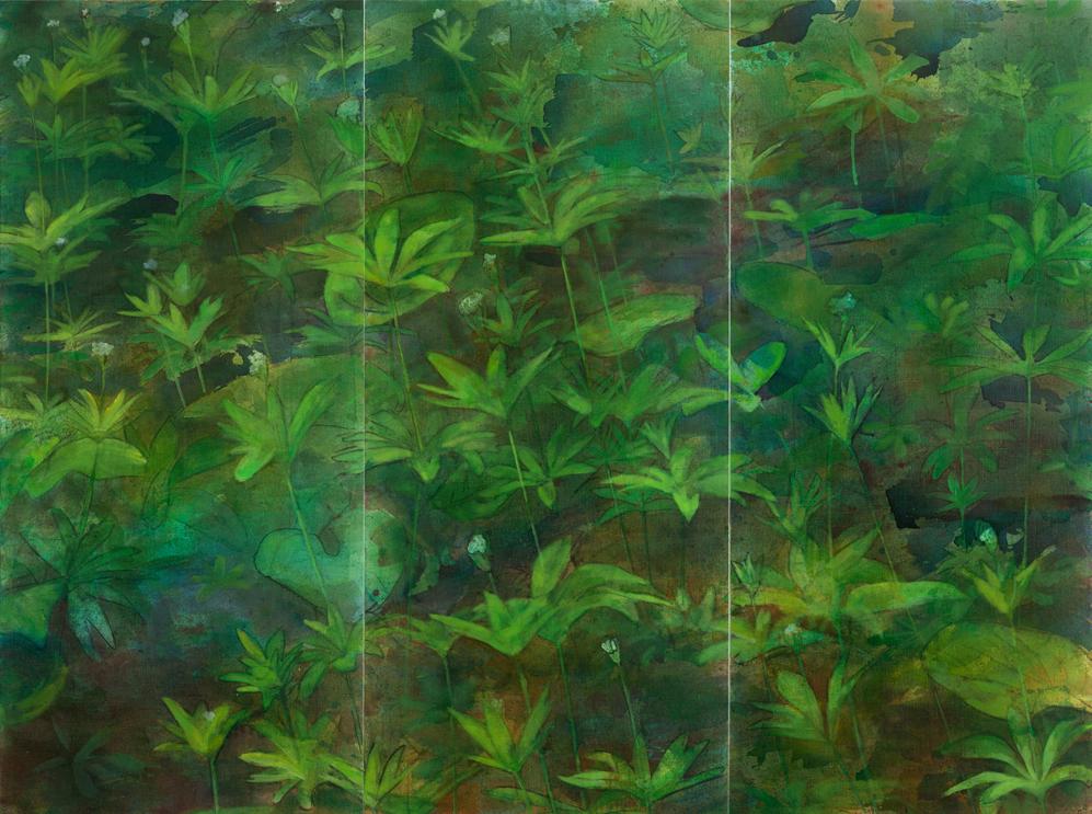 Олексій Литвиненко. Весняний килим, 2012, полотно, олія, 225х300