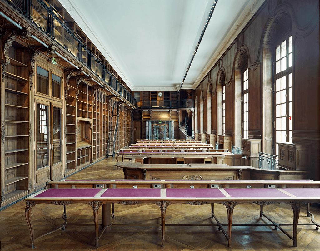 Открытие Национальной библиотеки во Франции после десятилетнего перерыва