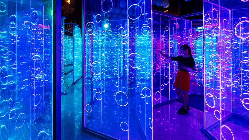 Необычный лабиринт от архитектурного и дизайнерского бюро в Китае