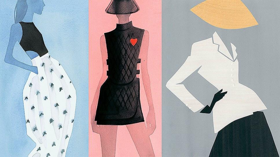Иллюстрация для Dior станут книгой