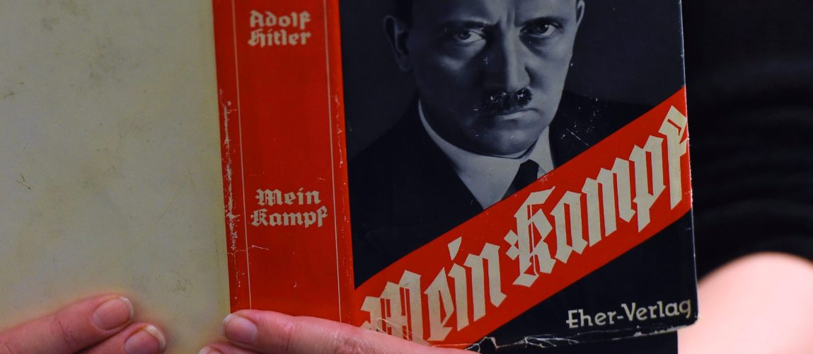 the truth behind hitlers mein kampf essay Mein kampf by adolf hitler essay 698 words | 3 pages the worlds worst events in history hitles rise to power started when he was put in jail for trying to overthrow the german government he was sent to jail for 10 years but got out in 9 months for good behavoir in jail he wrote a book called mein kampf or my struggle.