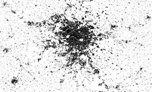 Спутниковые снимки показали самые густонаселенные регионы Земли
