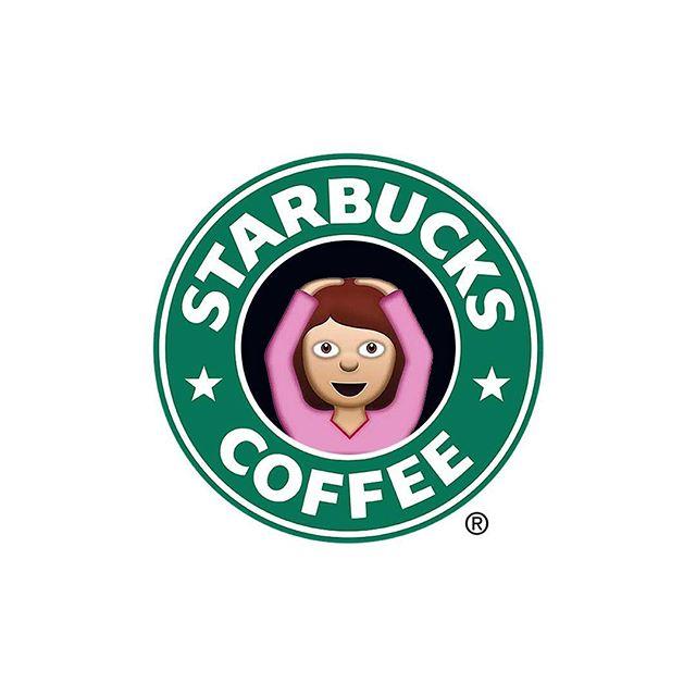 Дизайн логотипов известных брендов, созданных с помощью эмодзи