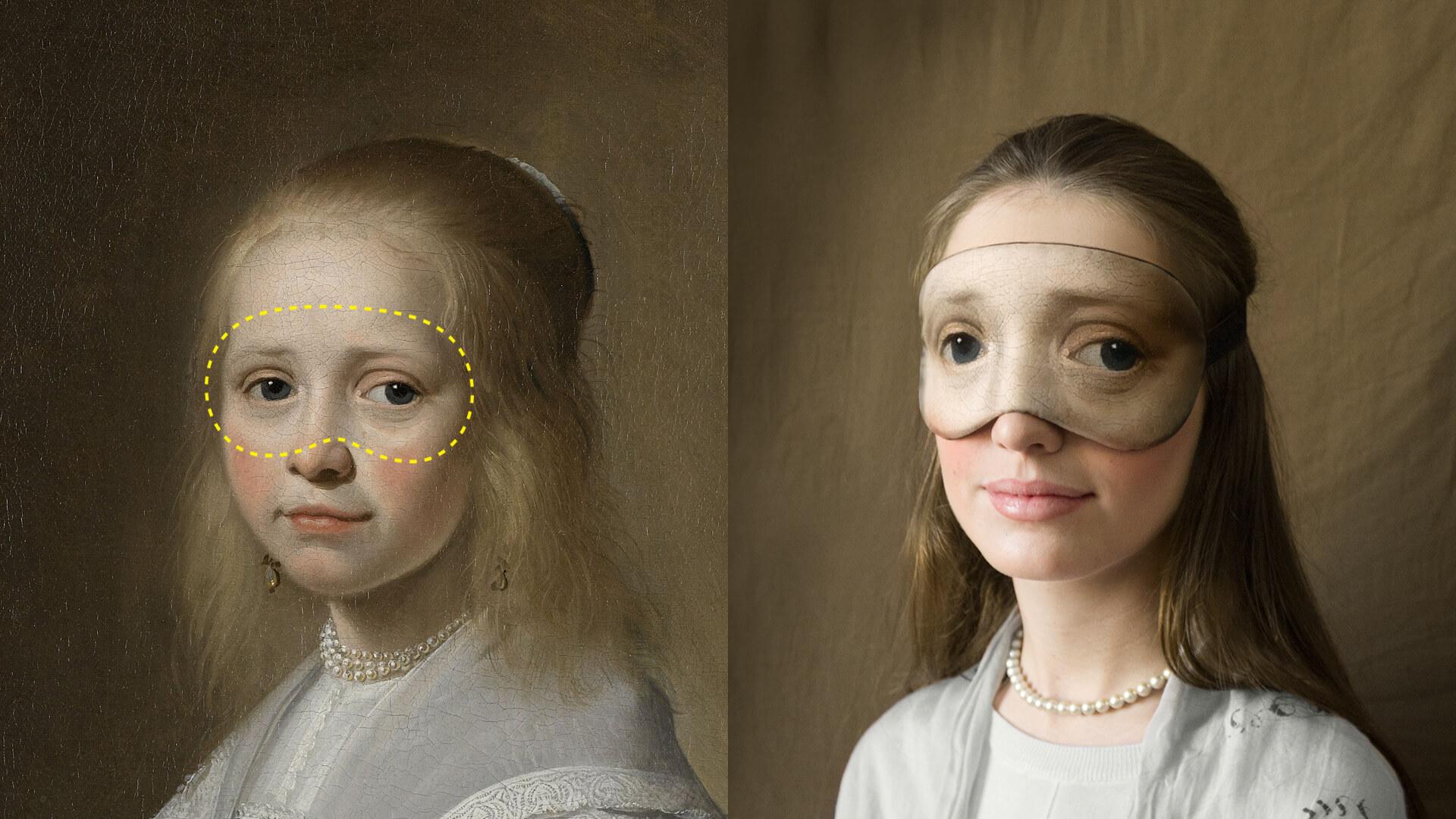 Маска для сна от Ван Гога и Рембрандта