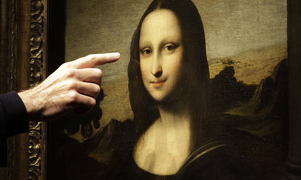 the secret behind monalisas smile If leonardo da vinci had painted his mona lisa in the 21st century instead of the early 16th, he'd have netted a fortune from merchandising and repro rights alone.