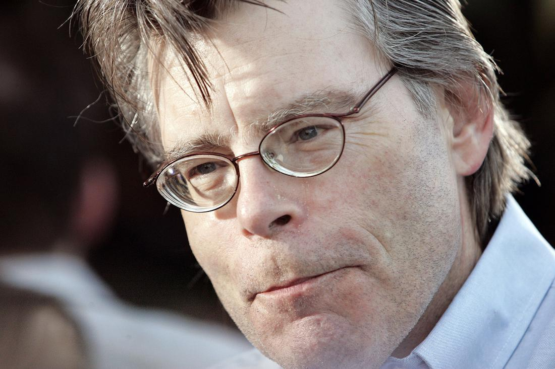 Writer Stephen King at the Los Angeles Premiere of Paramount Pictures' The Manchurian Candidate, on Thursday, July 22nd, 2004 in Beverly Hills, California. (NY Post: Mario Anzuoni)  Ref: MA 220704 A   Splash News and Pictures Los Angeles:   310-821-2666 New York:      212-619-2666 London:          207-107-2666 photodesk@splashnews.com