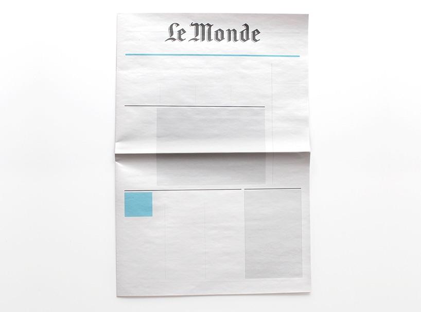 Живописцы выпустили серию пустых газет, чтобы позволить людям отдохнуть отинформации