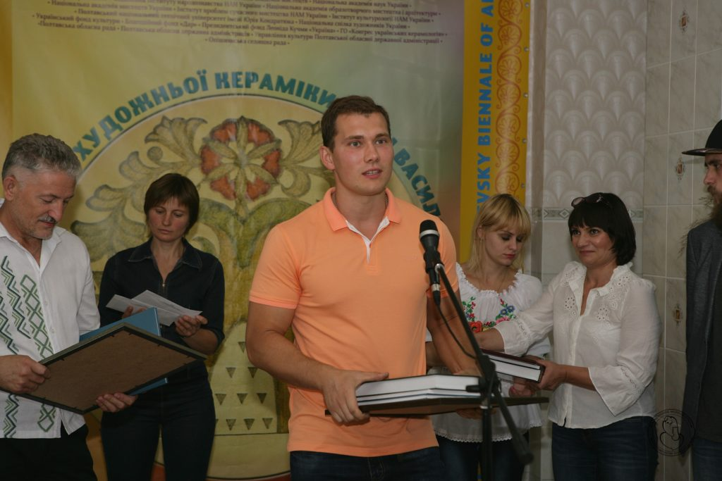 Володар Третьої премії БІЄНАЛЕ – Анатолій Шкурпела