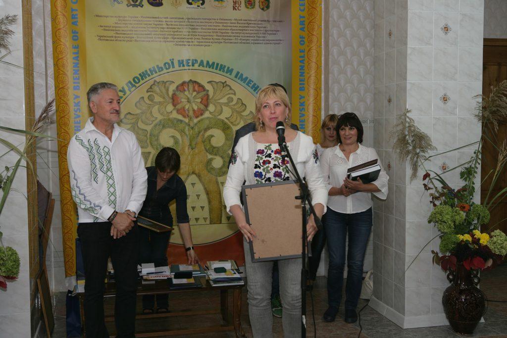 Володар Другої премії БІЄНАЛЕ – Ірина Марко (Львів)