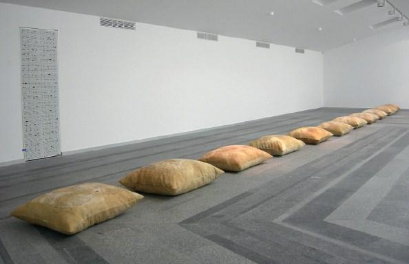 Дифузія iдентичності, інсталяція, текстиль, змiшана техніка, 2006