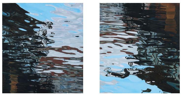 Інтерференція 1, 2, олiя на полотнi, 120 x 140 см, 2007–2008