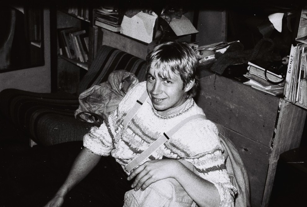 Олег ГолосІй, 1990 год (фото з архіву Марини Скугарьової)
