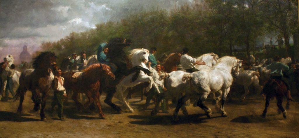 Роза Бонер «Ярмарка лошадей»
