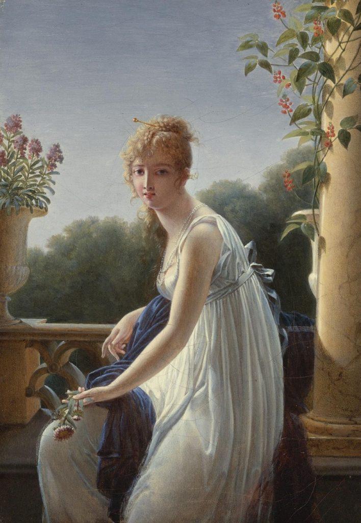 «Этюд молодой женщины, сидящей у окна»