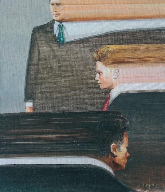 Агенти часу, олія на полотні, 40 x 30 см, 2014