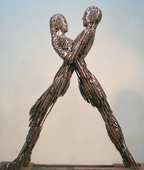 Єднання, метал, дерево, h — 150 см, 2015