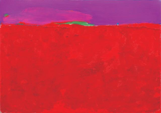 Анатолій Криволап_Весняна земля, 2009, полотно, олія, 140х200