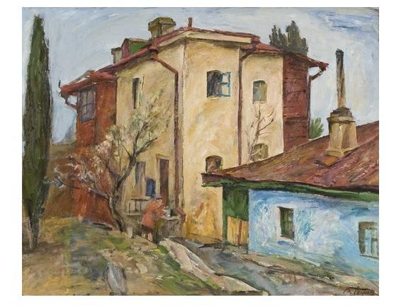 Ревунов, Вуличка, 1970-і, полотно-олія