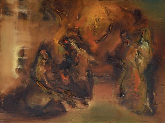 Матвій Вайсберг із серії «Сцени з Танаха»