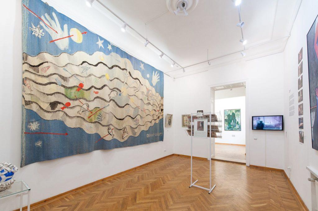 Экспозиция Музея современного искусства Одессы.