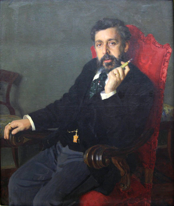 Н. Д. Кузнецов. Портрет Александра Руссова