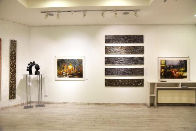 """У ЦСМ """"Білий Світ"""" відкрилась виставка """"Київ. Вулиця. Акварель"""""""