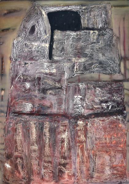 """З 30 жовтня по 18 листопада у ЦСМ """"Білий Світ"""" проходитиме виставка """"Листи з Вавилону"""" від художників Олексія Малих та Марини Афанасьєвої."""