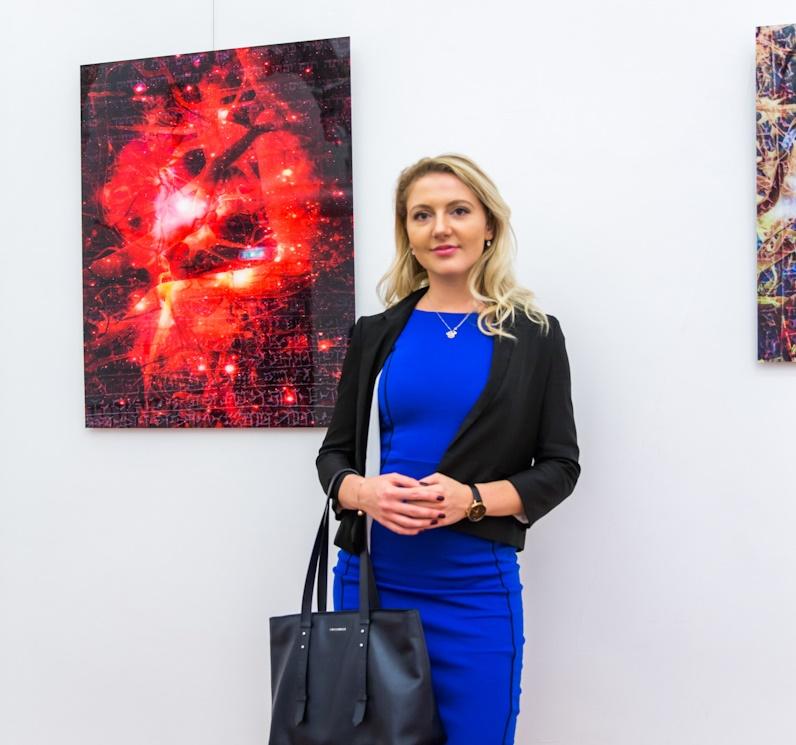 Алла Вольская, представитель Посольства Украины в Риме