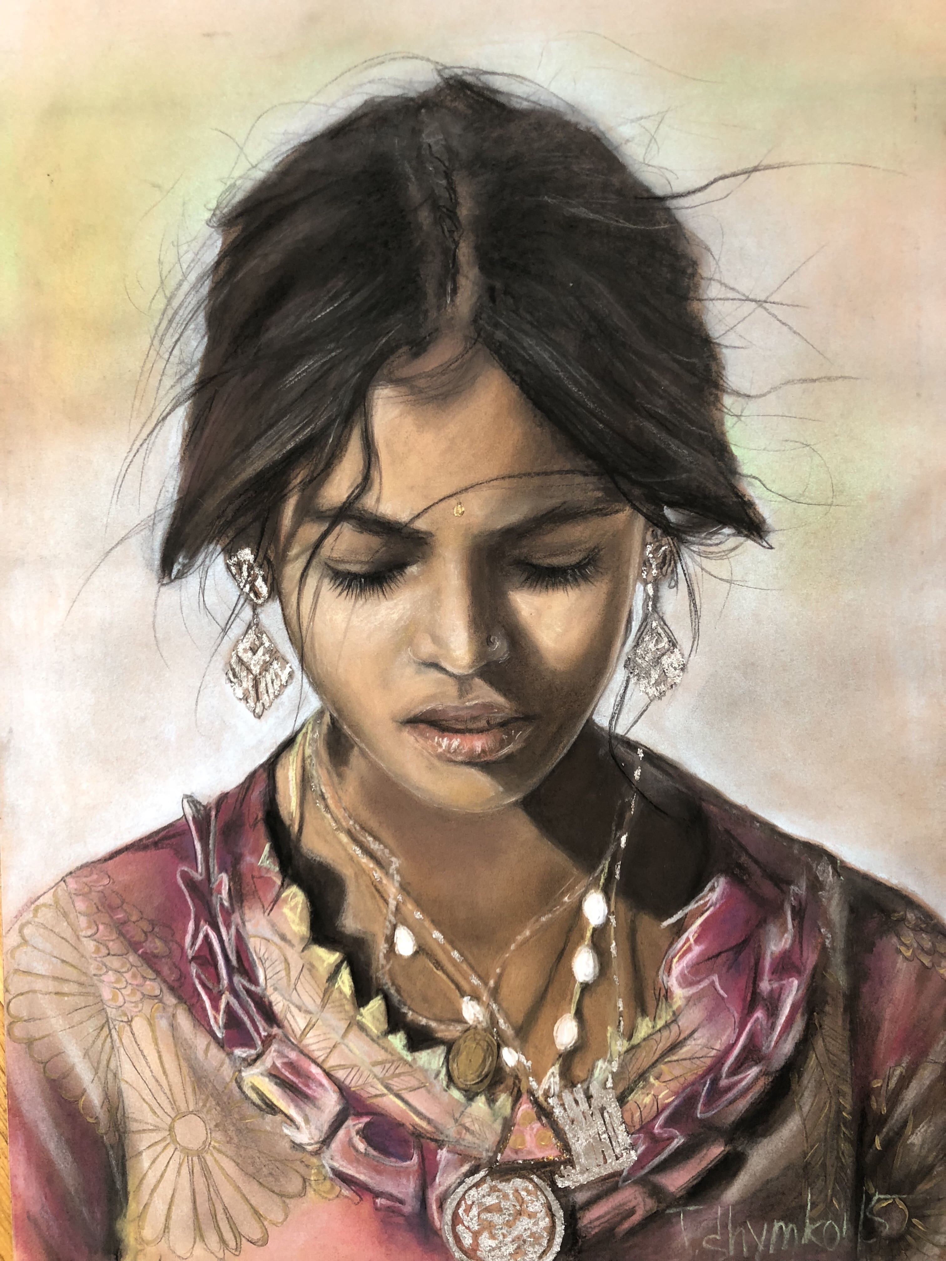 Персональна виставка Тетяни Шимко «Faces»