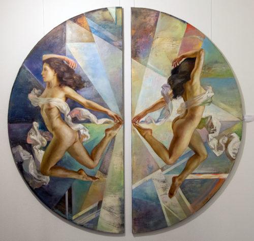 Алексей Глазунов о реализме, интерьерной живописи и своем персональном проекте «Геометрия устремлений»