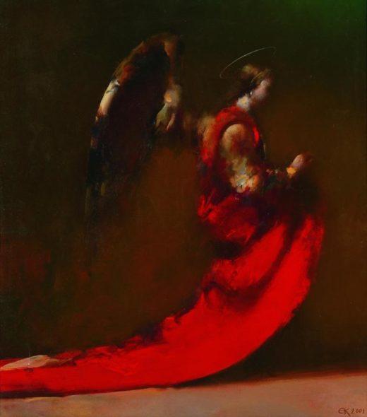 """Євген Кріп """"Янгол в червоному"""", 2001"""