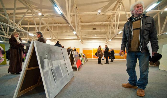 Итоговая выставка резиденции «Большой перевоз», 2012