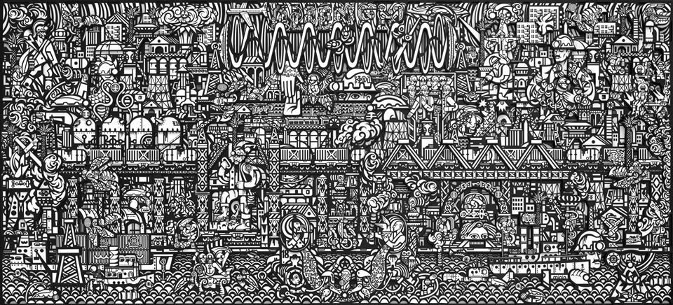 """Роман Минин. """"Золото нации"""" в Харьковской муниципальной галерее"""