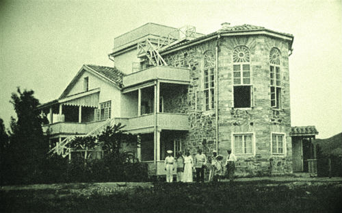 Дом Максимилиана Волошина в Коктебеле, архивное фото