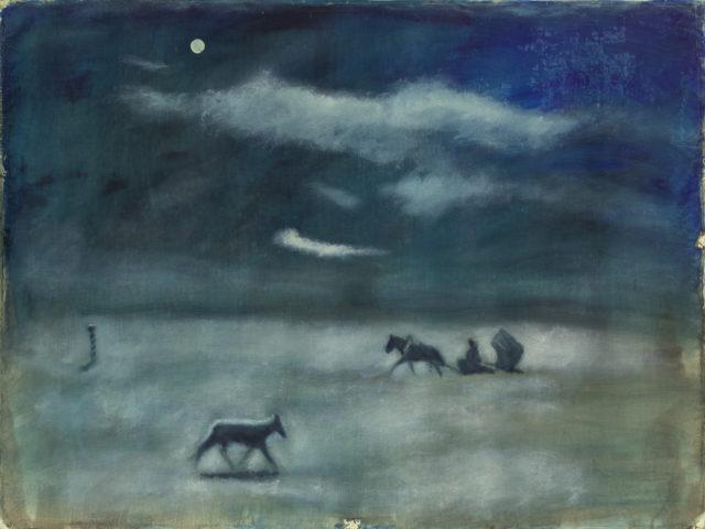 Олег Голосій, Верста, 1993, полотно, олія, 150Х200 см, надано маєтком художника та галереєю The Naked Room