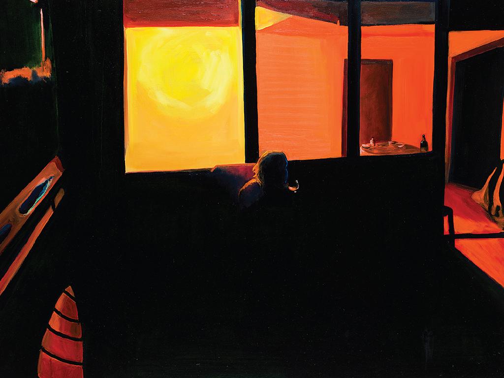 «Night» | Галерея «Триптих АРТ» | CHERNOZEM.INFO