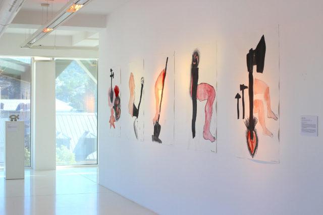 Влада Ралко, із серії «Моя робота мене робить», папір, акварель, олівець, маркер, 112 х 77 см., 2019