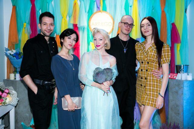 Spivakovska ART:EGO в рамках празднования своего пятилетия презентовала выставку украинских художников «5 элемент