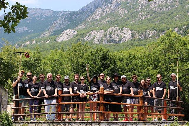 2.Учасники проекту на резиденції в Гірському Морині (Gornji Morinj) в Чорногорії